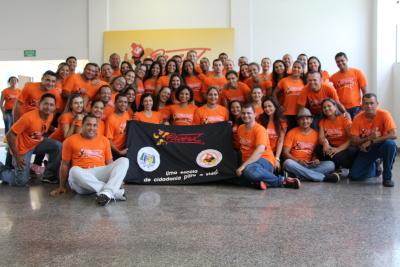 Equipe de instrutores do PROERD durante curso em Palmas.JPG