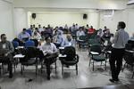 O Interáguas no Tocantins encerrou na tarde da sexta-feira, 5, na Universidade Corporativa do Estado do Tocantins (Unicet), em Palmas, e foi a segunda etapa do projeto Regulasan - Núbio Brito/Governo do Tocantins Legenda