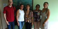 Veronica Conceição Arruda, Sec Ass. Social; Liliane Alves Ribeiro Chefe de GAB; Lorena Luz Sec Saúde e San.  Pref. de Dois Irmãos_200x100.jpg