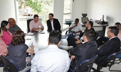 No encontro, o presidente Jota Patrocínio apresentou ao presidente da ARP, Cláudio Schüller, o corpo técnico da ATR e suas atribuições