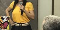 Subprocuradora Geral Irana Coelho conduziu a festa de despedida