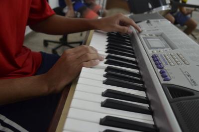 A musicalização no Case faz parte do projeto