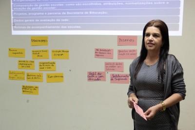 Gleiva Giuvannucci - coordenadora Tutoria Pedagógica