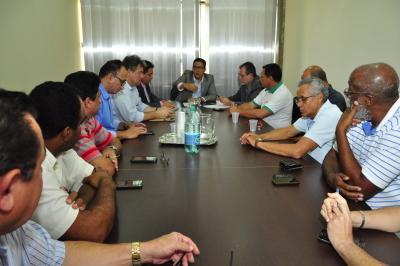 A reunião aconteceu na tarde desta terça-feira, 16, na Secad