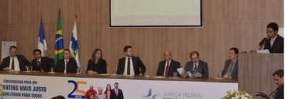 PGE Sérgio do Vale participa de comemoração dos 25 anos de instalação da Justiça Federal no TO
