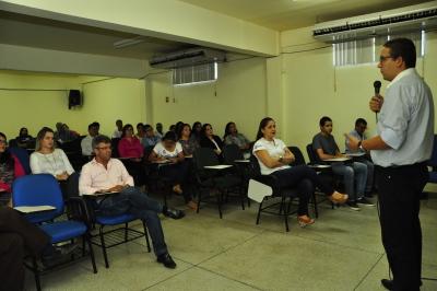 O evento aconteceu no auditório da Unicet