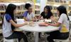 Alunos encontram nas bibliotecas espaços para discutirem trabalhos escolares e empréstimos de livros