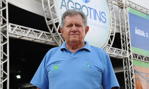 O secretário de Estado do Desenvolvimento da Agricultura e Pecuária, Clemente Barros, anunciou que a 17ª Feira de Tecnologia Agropecuária do Tocantins (Agrotins) bateu recorde de movimentação financeira e público