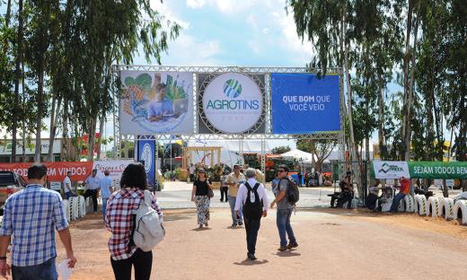A Agrotins 2017 contou com um público de 120 mil visitantes e um volume de negócios de R$ 652 milhões
