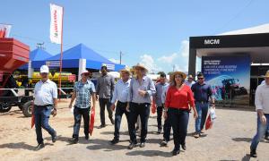 O governador Marcelo Miranda marcou presença durante dois dias na Agrotins