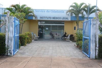 Sede do IML de Palmas está localizada na quadra 304 Sul