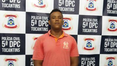 Suspeito de receptação e adulteração de sinal identificador de veículos é preso pela Polícia Civil em Palmas