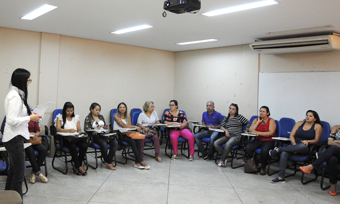 Profissionais de diversos hospitais do Estado participaram de capacitação nesta quinta-feira, 18