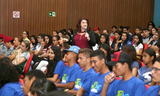 O encontro contou com a presença de 275 alunos da rede estadual em Araguaína