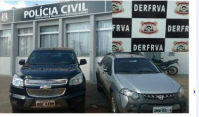 Veículos roubados e clonados são apreendidos pela Polícia Civil