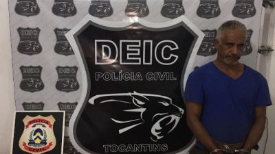 Suspeito de integrar organização criminosa é preso pela DEIC/NORTE
