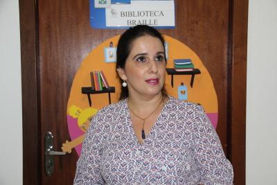 Paola Regina Martins, gerente de Educação Especial