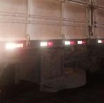 Caminhão carregado de madeira ilegal apreendida