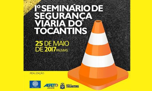 Seminário ocorre no dia 25 de maio, em Palmas