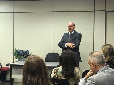 Boas vindas foi encabeçada pelo Procurador-Geral, Sérgio do Vale.