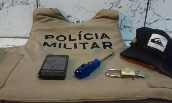 Material apreendido com suspeito de furto em Gurupi._700x420.jpg