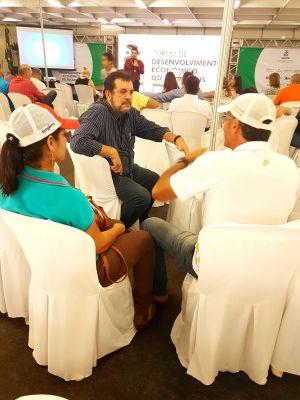 Durante o evento houve espaço para esclarecimento de dúvidas dos empreendedores