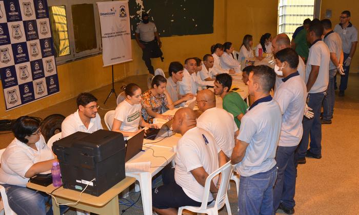 Ao todos, foram 560 atendimentos nos três pavilhões em três dias, sendo que muitos detentos receberam mais de um procedimento. Credito Umanizzare.JPG