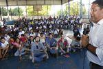 Ribeirinha fala de superação e das escolhas que se faz na vida na mobilização da Caravana da Juventude