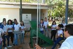 Alunos do Colégio São José durante visita à UFT