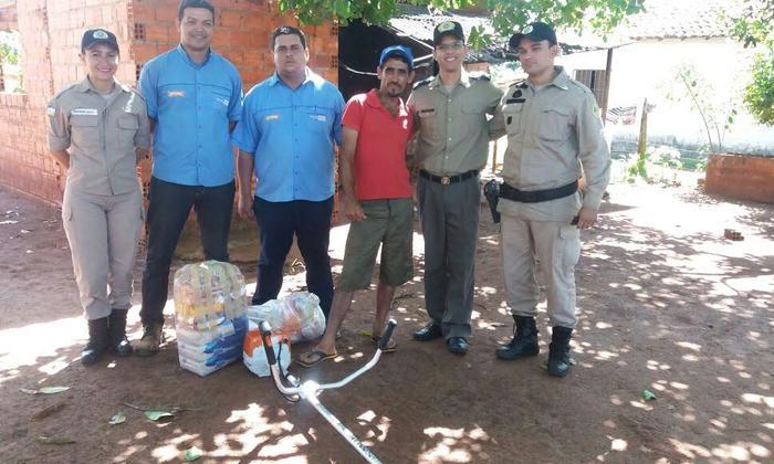 Policiais militares de Araguaína realizam ação solidária e compram novo instrumento de trabalho.