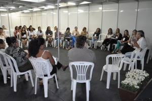 Profissionais debateram boas práticas -Nielcem Fernandes (4).JPG