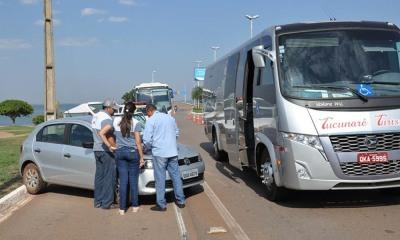 A operação foi desenvolvida nos municípios de Palmas, Lajeado, Paraíso e Porto Nacional, com autuações e notificações aos prestadores de serviços que estavam em situações irregulares - Núbio Brito/Governo do Tocantins
