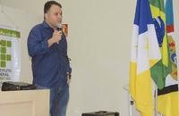 Delegado Marcelo Falcão em aula inaugural da Acadepol em Dianópolis