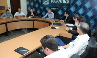 A reunião desta segunda, 29, é resultado da audiência entre o governador Marcelo Miranda e o prefeito de Palmas, Carlos Amastha, ocorrida no dia 3 de maio, quando discutiram temas de interesse comum com ênfase na regularização fundiária do município