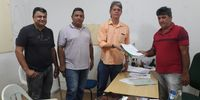 Entrega do Diagnostico no município de Sampaio junto ao Sr. Prefeito