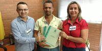 Convite e Entrega do Diagnóstico junto ao Sr. Thiago Alves Fernandes Secretário Municipal de Administração de Abreulândia