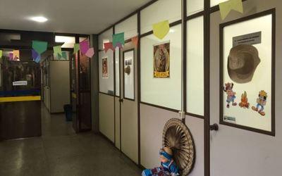 Decoração junina na PGE/TO