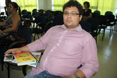 O gerente de Mobilização e Participação da Seciju, Francisco Maior Neto, também participou da capacitação.