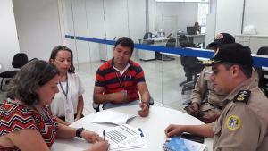 PM firma parceria com SENAI e oferece curso de capacitação profissional gratuito à moradores da região sul de Palmas.