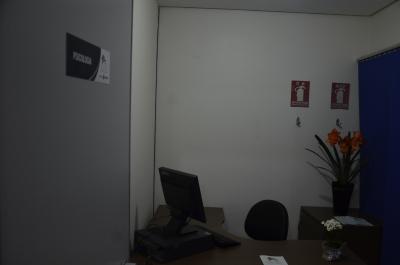 Sala de atendimento da Psicologia (Núcleo Acolher)