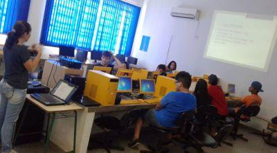 Cerca de 20 estudantes estão sendo atendidos nesta etapa do curso
