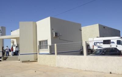 A mais nova unidade prisional foi construída em um terreno doado pela Prefeitura Municipal.