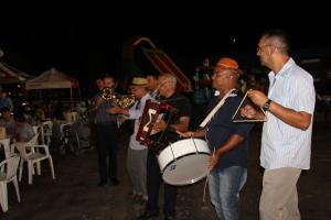 Banda de Música da PMTO presente no Arraiá.