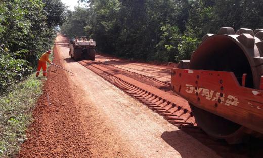 Trecho da Rodovia TO-126, entre Tocantinópolis e Aguiarnópolis, possui 25,73 quilômetros e receberá também obras de drenagem e de sinalização
