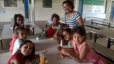 Por meio do Novo Mais Educação, a escola tem conseguido melhorar o aprendizado dos alunos