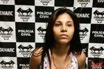 Suspeita por tráfico de drogas preso pela Denarc