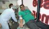 Doador veterano, o servidor público Alex Faria realizou sua 20ª doação de sangue, na tarde desta terça-feira, 20, na Unidade Móvel do Hemocentro