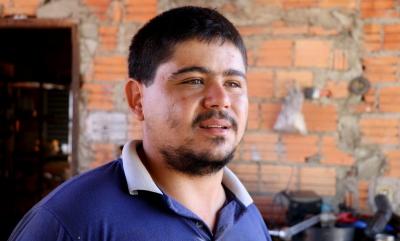 O mecânico Emílio Araújo avalia positivamente investimentos realizados pelo Governo