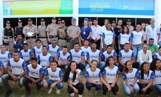 Polícia Militar e Senai iniciam aulas de projeto social em Palmas