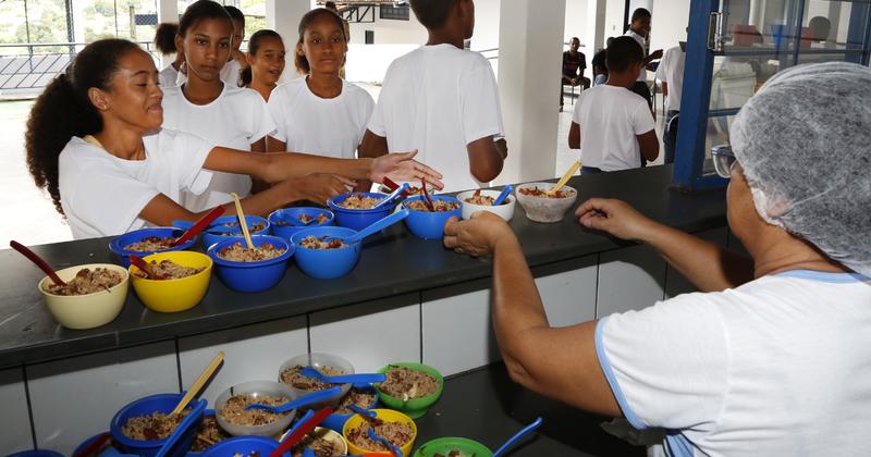 Serão selecionados os pratos mais caprichados, saudáveis e saborosos das escolas públicas brasileiras